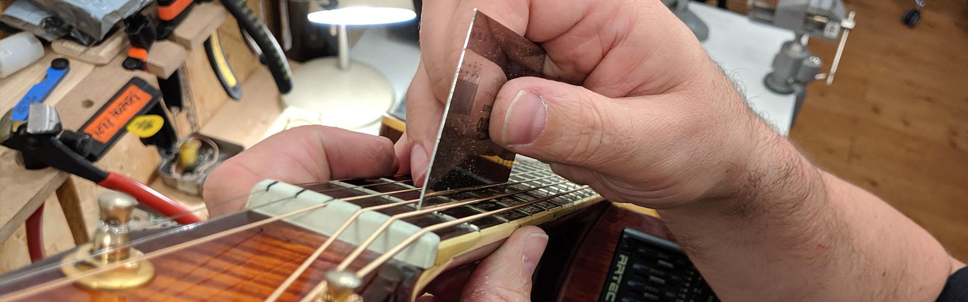 Guitar maintenance and repair at Shire Guitars